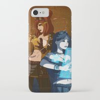 steam punk iPhone & iPod Cases featuring Steam/Cyber Punk by Waffle Guru