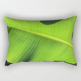 Banana Leaf, Dark Shadows Rectangular Pillow