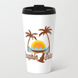 Dauphin Island - Alabama. Travel Mug