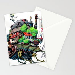 Howls Castle Stationery Cards