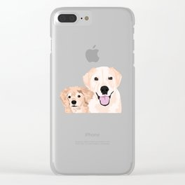 Carmen and Shelby Clear iPhone Case