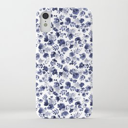 Floret Indigo Ditsy iPhone Case