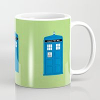doctor who Mugs featuring DOCTOR WHO. by John Medbury (LAZY J Studios)
