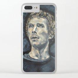 Hamlet Acrylic Painting on Canvas Clear iPhone Case