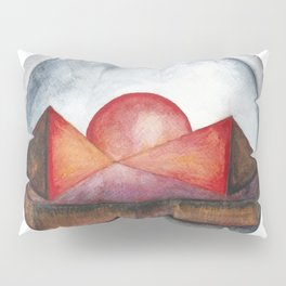 Geometric landscapes 04 Pillow Sham