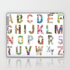 ABC of professions Laptop & iPad Skin