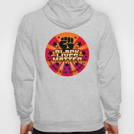 BLM-Silence is Violence Hoody