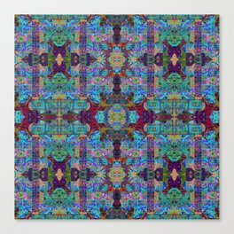 Overshot Pattern Canvas Print
