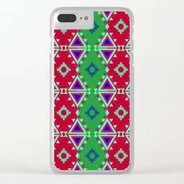 Indian Designs 67 Clear iPhone Case