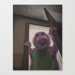 Won't You Say You Love Me Too? Canvas Print