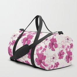 Pink Poppy Bash Duffle Bag