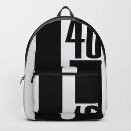 GT40 Black Top Tribute Backpack