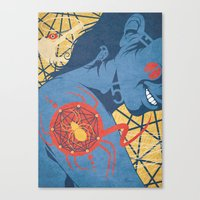 spider Canvas Prints featuring SPIDER by Armin Barducci