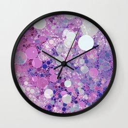 Pastel Pantone  Pattern Design Wall Clock