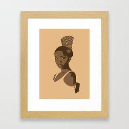 peineta Framed Art Print