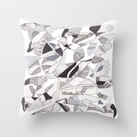 orca Throw Pillows featuring ORCA by Alex Rocha