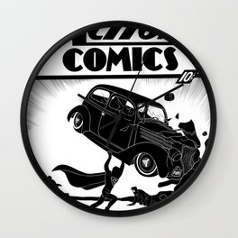 Action Comics #1 Redux Wall Clock