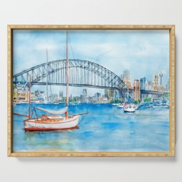 Beautiful Sydney Harbour Serving Tray