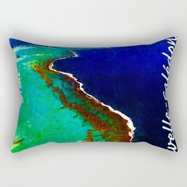 Landscapes and Animals of New Caledonia 1 Rectangular Pillow