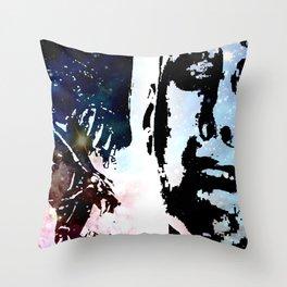 SIGOURNEY WEAVER, AN ALIEN & COSMOS Throw Pillow