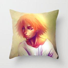 Portrait #1 Dave Brito Throw Pillow
