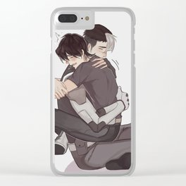 SHIRO!! Clear iPhone Case