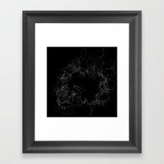 Artificial Constellation Plain Framed Art Print