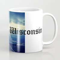 milwaukee Mugs featuring Milwaukee Morning by Laughable Life