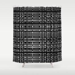 block chain Shower Curtain