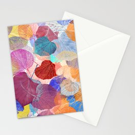Leaf Mosaic 41 Stationery Cards