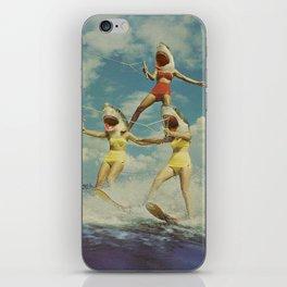 On Evil Beach - Sharks iPhone Skin