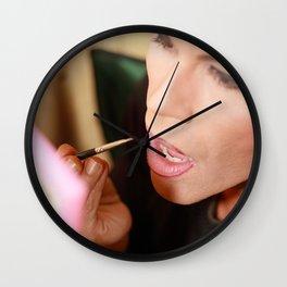 Doll-faced  Wall Clock