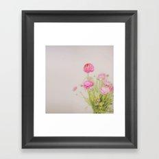 . florets . Framed Art Print