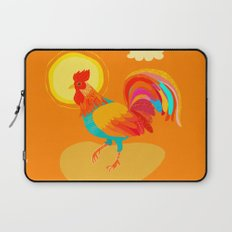 Orange Rooster Laptop Sleeve
