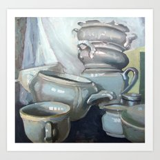 Porcelain1 Art Print