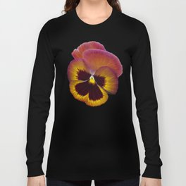 Pansy Painted Long Sleeve T-shirt