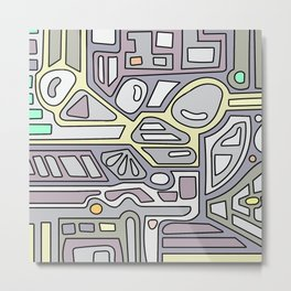 MIN11 Metal Print