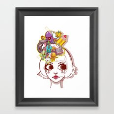 Legitimate Hat Framed Art Print