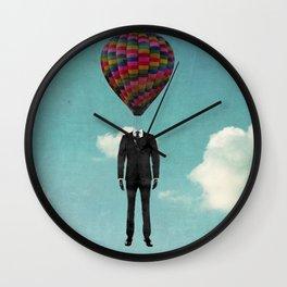 balloon man Wall Clock