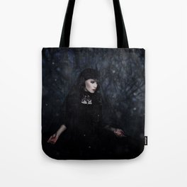 And Then It Began To Snow Tote Bag