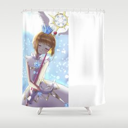 Cardcaptor Sakura New Arc Fanart Shower Curtain