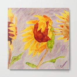 Sunflowers | Tournesols Metal Print
