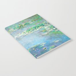 Monet Water Lilies / Nymphéas 1906 Notebook