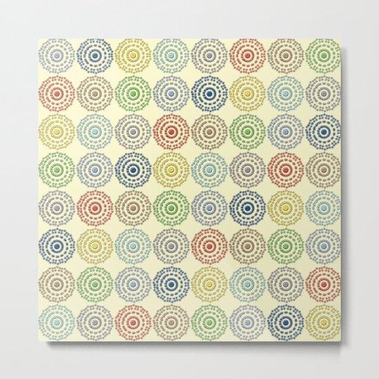 Lovely Pattern XIX Metal Print