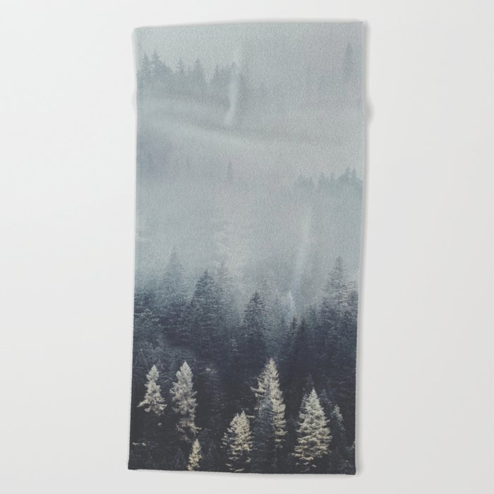 Fire and desire Beach Towel