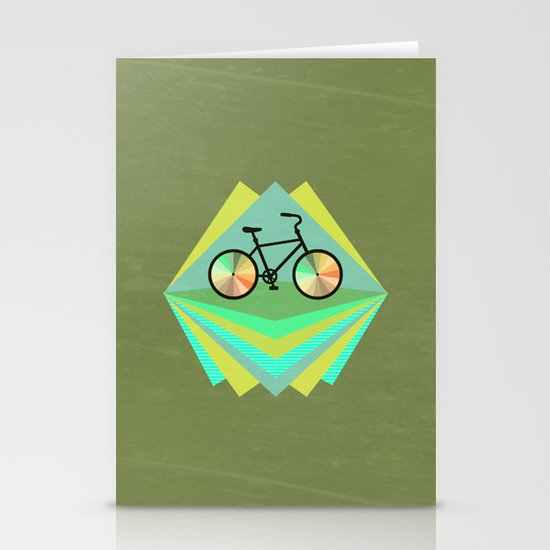 wanna ride my bicycle Stationery Cards
