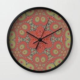 Incremental Looping Kaleidoscope Wall Clock
