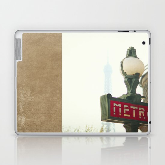Metro in Paris Laptop & iPad Skin