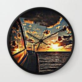 Yacht Wall Clock