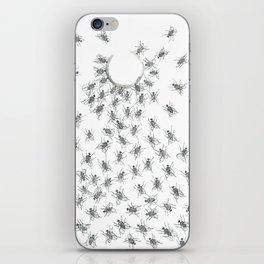 Gloomy Flies iPhone Skin